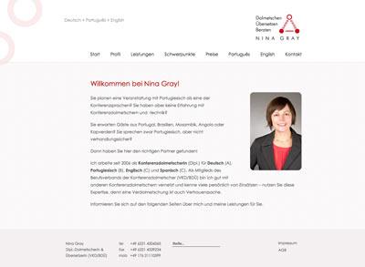 Webdesign Gray
