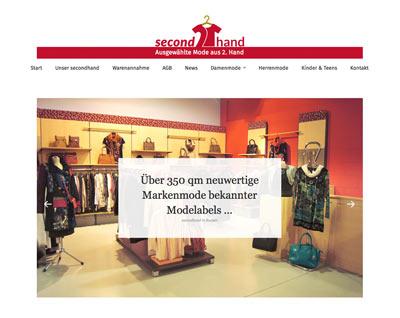Responsive Webdesign Secondhand Helma Imhof
