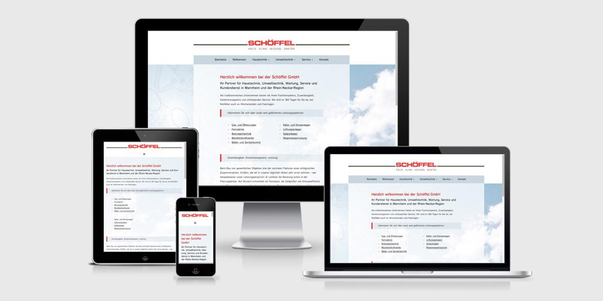 Responsive Webdesign Schoeffel Mannheim