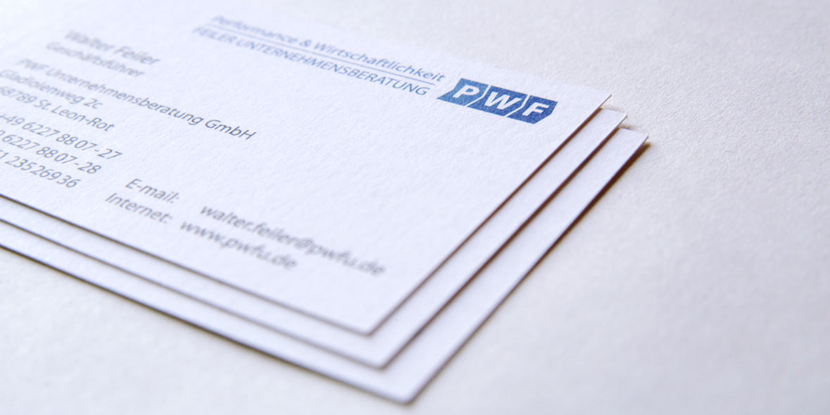 Visitenkarten Unternehmensberatung