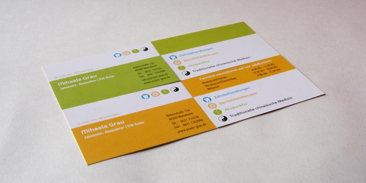 Visitenkarten Arztpraxis