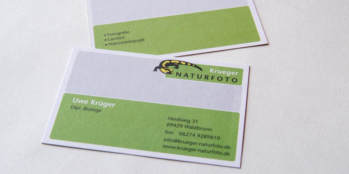 Visitenkarte Uwe Krüger