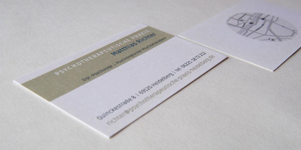 Visitenkarte Psychotherapie