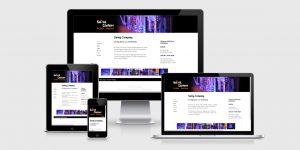 Responsive Webdesign swing-company-heidelberg.de