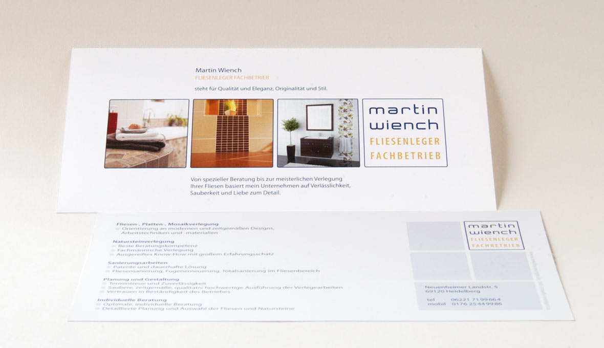 Flyer, Folder und Broschüren | Grafik- & Webdesign