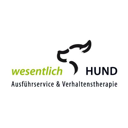 Logo wesentlich Hund, Verhaltenstherapie und Ausführservice