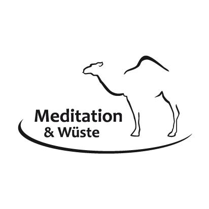 Logo Meditation & Wüste