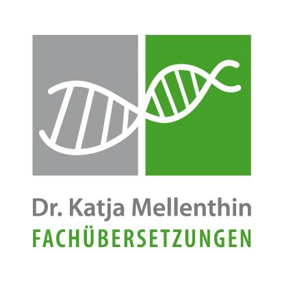 Logo Dr. Katja Mellenthin, Fachübersetzungen
