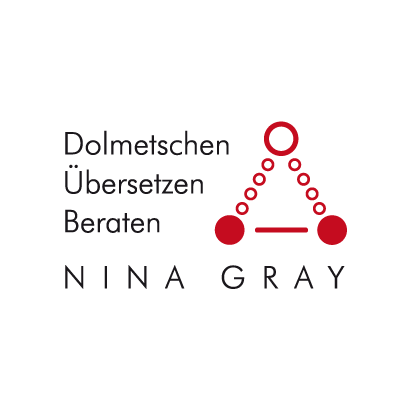 Logo Nina Gray Dolmetschen