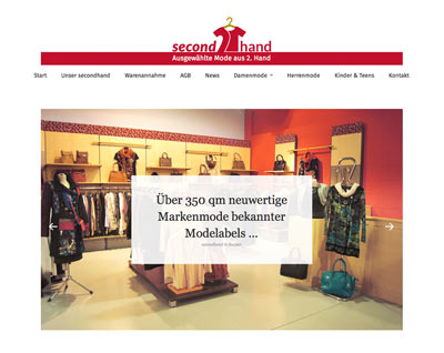 Responsive Webdesign Secondhand Helma Imhof