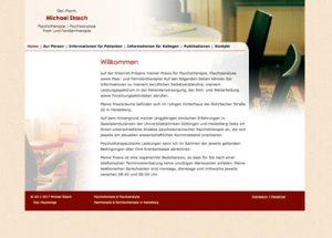 Webdesign Psychotherapie Stasch
