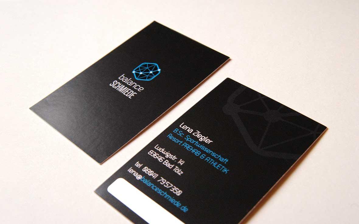 Visitenkarte BalanceSchmiede