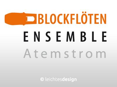 Logo-Angebot Blockflöten Ensemble