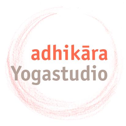 Logo adhikara Yogastudio